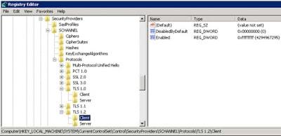 TLS registry_details