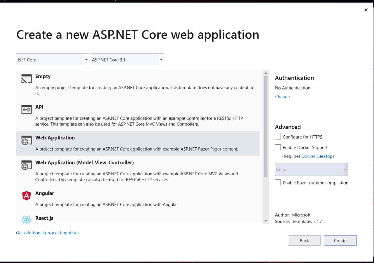 CRUD Operation with Asp.Net Core Razor Page with Ado.Net